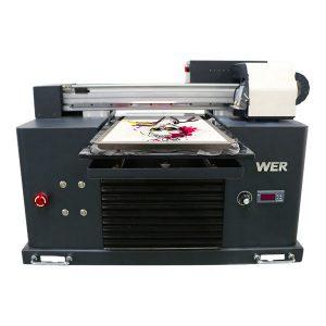 høj kvalitet digital flatbed t-shirt dtg a3 printer til sort tøj trykning