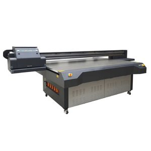 2,5m * 1,3m high definition ricoh gen 5 digital uv flatbed glas printer