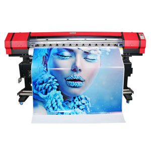 bredt format 6 farver flexo banner klistermærke opløsningsmiddel inkjet printer