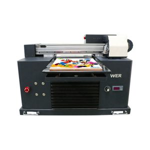touch screen intelligent justering inkjet pvc plast id-kort printer a3