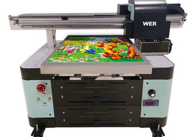 oversea understøtter digital maskine a2 uv flatbed printer