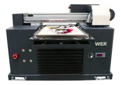 a3-størrelse flerfarvet flad sengetype t-shirt dtg printer