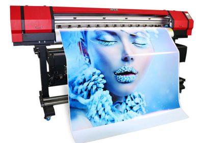 1,6 m udendørs indendørs øko opløsningsmiddel lille pvc vinyl printer