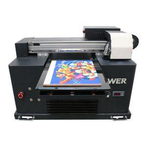 2019 ny dx5 hoved flatbed printer a3 størrelse uv led trykkeri