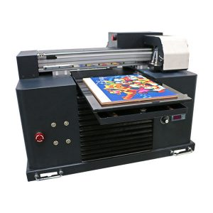 Ny Design Mini Led Flatbed A3 A4 Størrelse Desktop Epson UV Printer