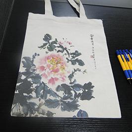 Canvas taskeprøve af A2 t-shirt printer WER-D4880T