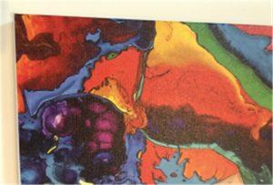 Canvas printprøve af WER-E2000UV