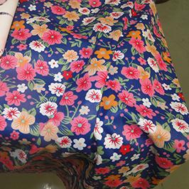Digital tekstiltryksprøve 1 af digital tekstil printer WER-EP7880T