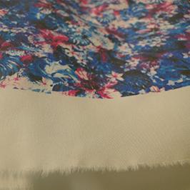 Digital tekstiltryksprøve 2 af digital tekstil printer WER-EP7880T