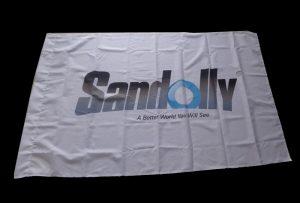 Flag Cloth banner trykt med 1,6 m (5 fod) øko solvent printer WER-ES160