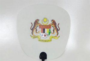 Plastventilprøve udskrevet af A1-størrelse uv-printer 6090UV