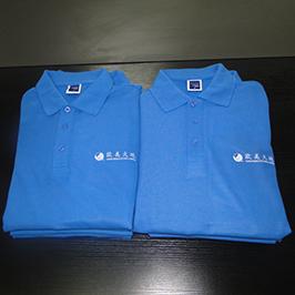 Poloshirt tilpasset printprøve af A3 t-shirt printer WER-E2000T