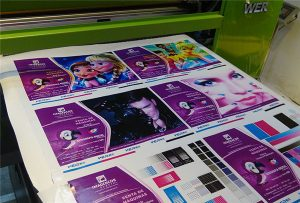 Udskrivning-prøve-of-Vinyl-fra-WER-EP6090UV-printer