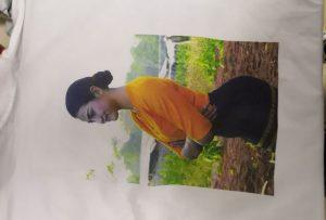 T-shirts printprøve til Burma klient fra WER-EP6090T printer