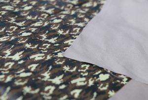 Tekstiltryksprøve 1 af digitalt tekstilmaskine WER-EP7880T