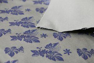 Tekstiltryksprøve 2 ved digital tekstil printmaskine WER-EP7880T