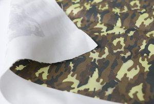 Tekstiltryksprøve 3 ved digital tekstilmaskine WER-EP7880T