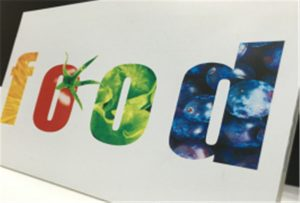 WER-ED2514UV -2.5x1.3m stort format UV-printer-udskrivningsprøve til keramisk flise