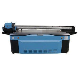 stort format high speed digital flatbed china uv printer til glas trykning